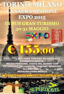 TORINO locandina sindone e EXPO grp s lucia3